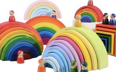Arcoíris Waldorf cómo jugar