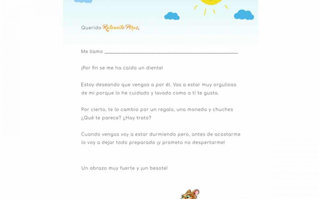 Carta al Ratoncito Pérez